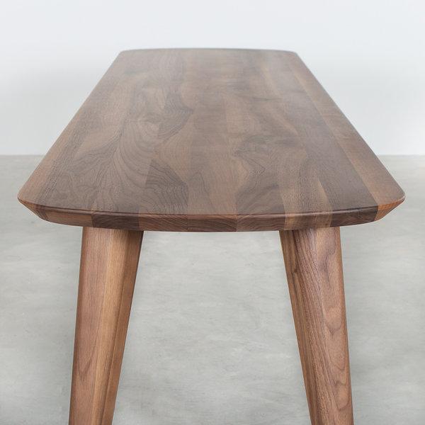bSav & Okse Tomrer Dining Table Bench Walnut