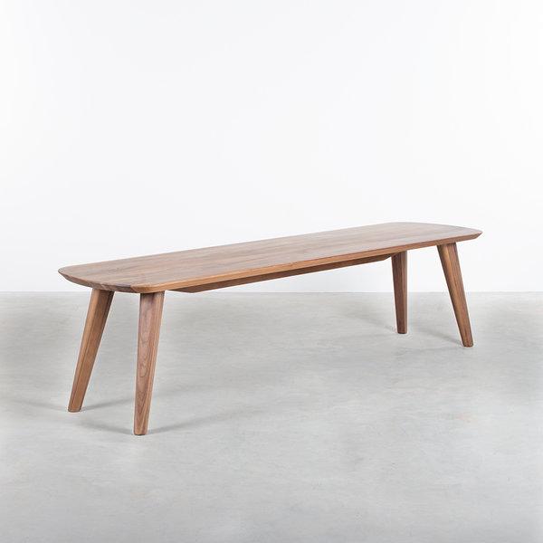 bSav & Okse Tomrer Walnut dining table bench