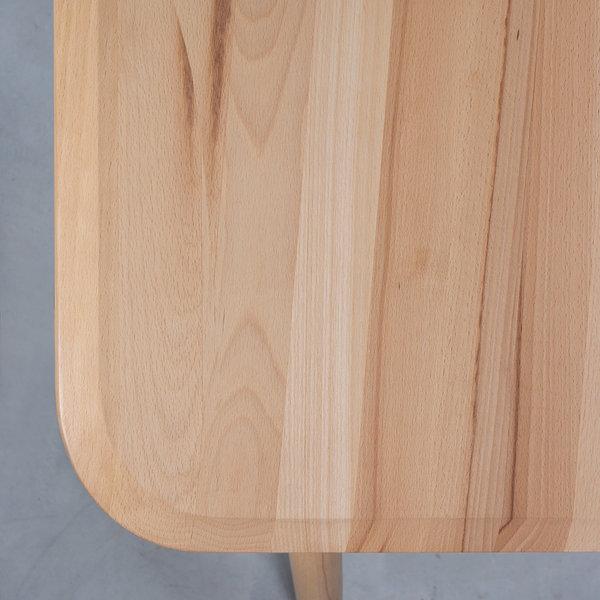 bSav & Okse Olger Bureau 150 x 75 Beuken geolied -zonder doorsteek van poten in het blad