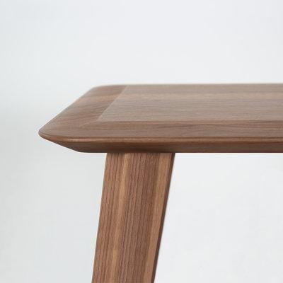 Sav & Okse Samt stool Walnut