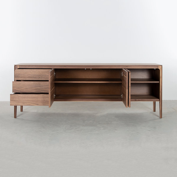 bSav & Økse Rikke Sideboard Walnut 3-compartment