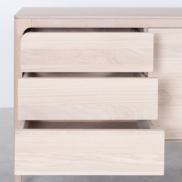 bSav & Okse Rikke sideboard Oak Whitewash