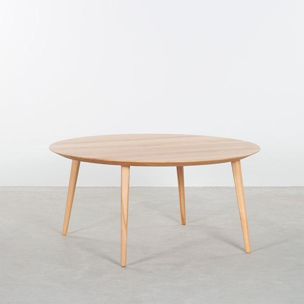 bSav & Økse Tomrer Coffee Table Round Beech - 4 Legs