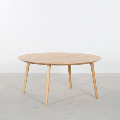 Sav & Okse Tomrer Coffee Table Round Oak - 4 Legs