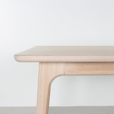 Sav & Okse Fjerre Table Oak Whitewash