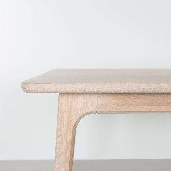 bSav & Økse Fjerre Table Oak Whitewash