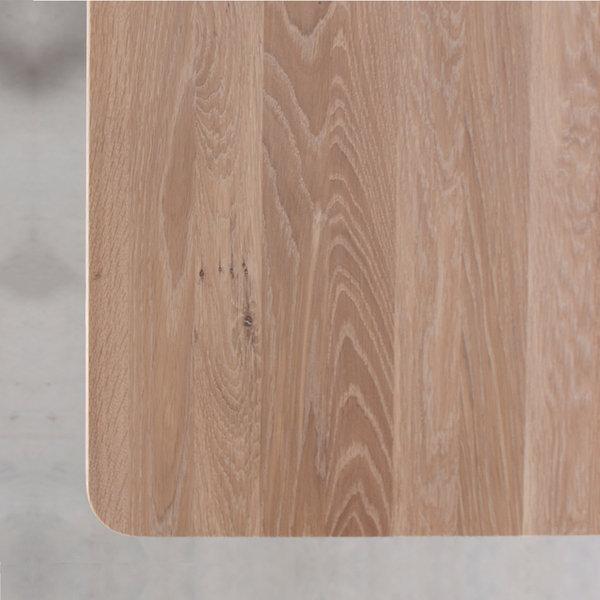bSav & Okse Fjerre Table Oak Whitewash