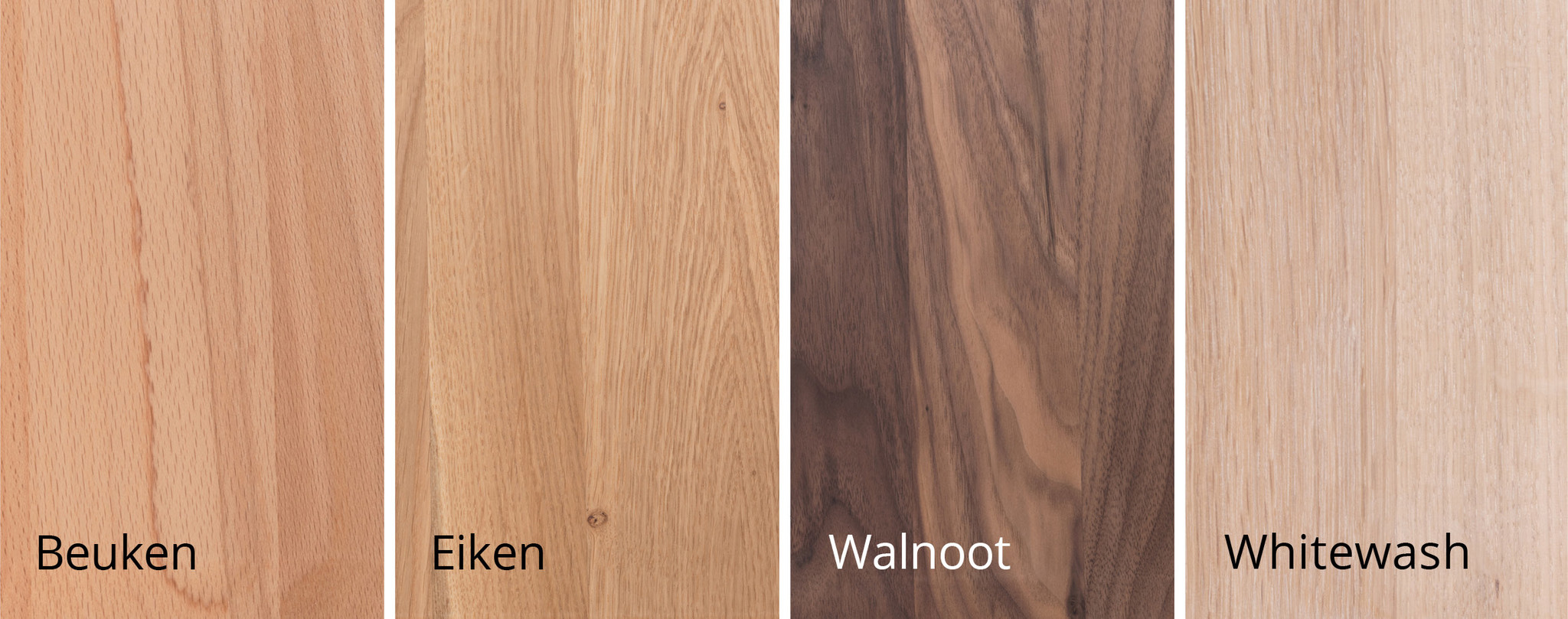 Sav&Okse houtsoorten