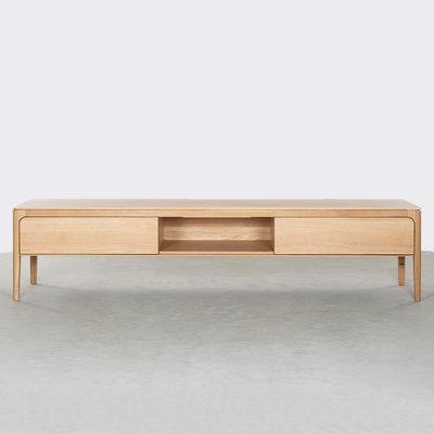 Sav & Økse Rikke TV Cabinet Oak 200cm