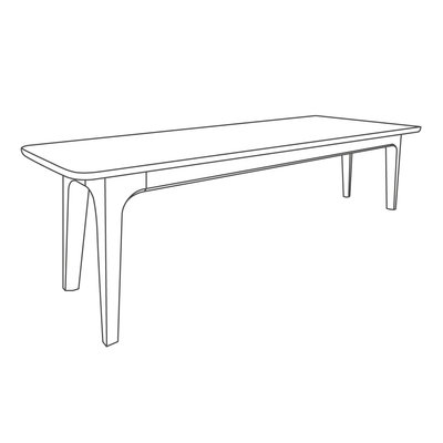 Fjerre Dining Table Bench