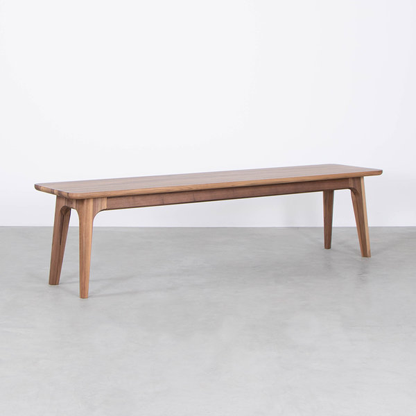 bSav & Okse Fjerre Dining Table Bench Walnut
