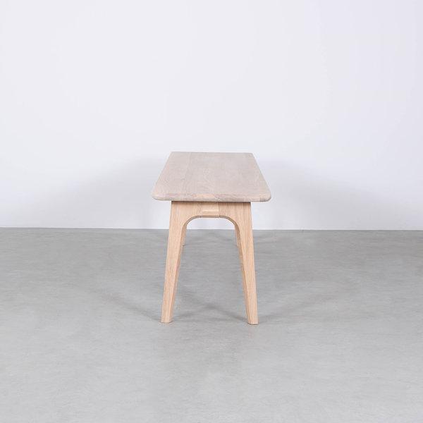 bSav & Økse Fjerre Dining Table Bench Oak Whitewash