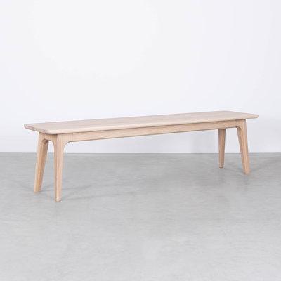 Sav & Økse Fjerre Dining Table Bench Oak Whitewash