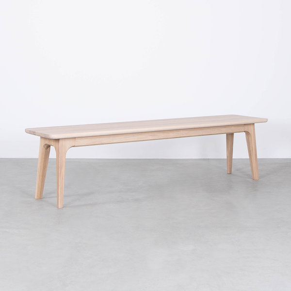 bSav & Okse Fjerre Dining Table Bench Oak Whitewash