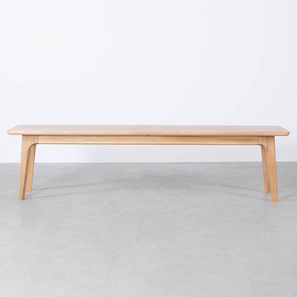 bSav & Okse Fjerre Dining Table Bench Oak
