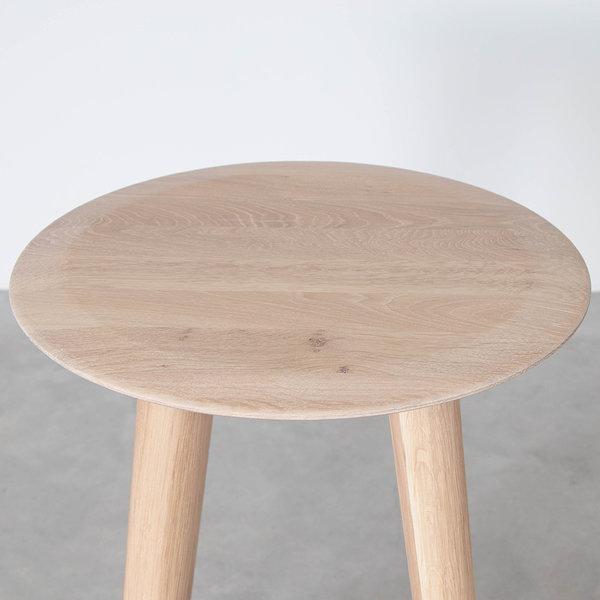 bSav & Økse Olger Counter Barstool Oak Whitewash