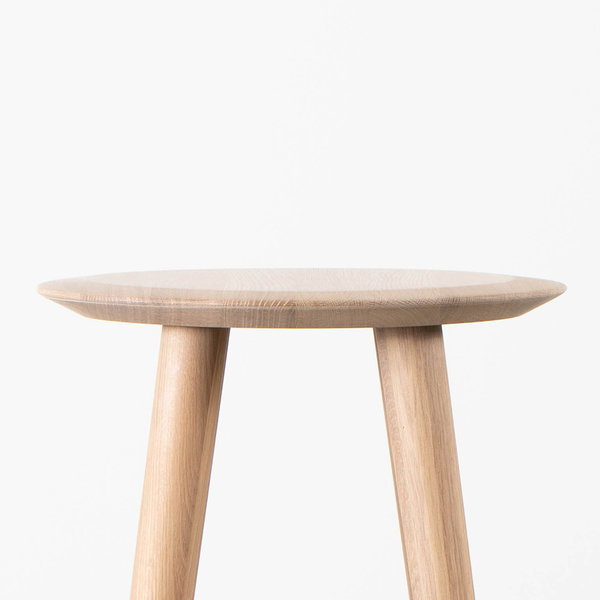 bSav & Okse Olger Counter Barstool Oak Whitewash