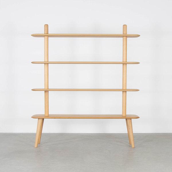 bSav & Okse Olger Wall Cabinet Beech