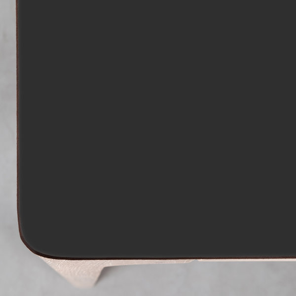 bSav & Økse Rikke Tafel zwart Fenix blad - Eiken Whitewash poten