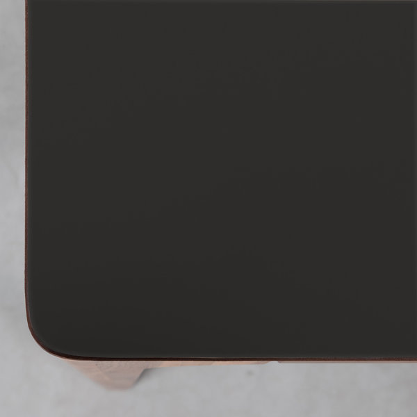 bSav & Økse Rikke Table Black Fenix Leaf - Walnut Legs