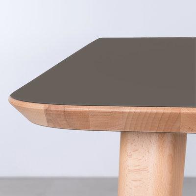 Sav & Okse Tomrer Table Gray Fenix Top - Beech Legs
