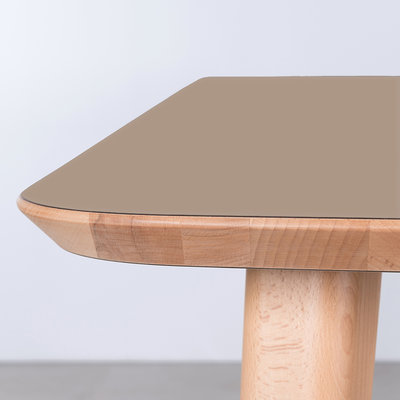 Sav & Okse Tomrer Table Clay Gray Fenix Top -  Beech legs