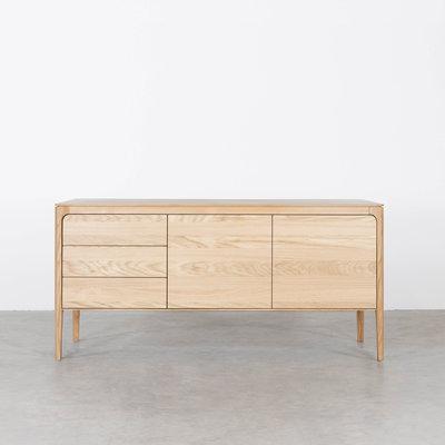 Sav & Økse Rikke Sideboard Oak 3-compartment
