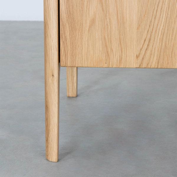 bSav & Økse Rikke Highboard Cabinet Oak 2-door