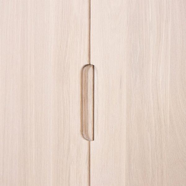 bSav & Økse Rikke Highboard Kast Eiken Whitewash 2-deurs