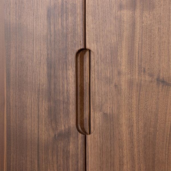 bSav & Økse Rikke Highboard Kast Walnoot 2-deurs