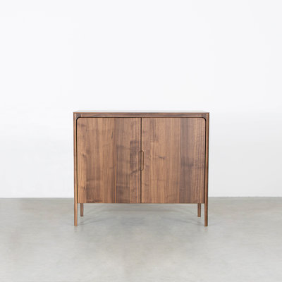 Sav & Økse Rikke Highboard Cabinet Walnut 2-door