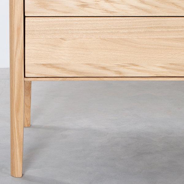 bSav & Økse Rikke Sideboard Oak 4-compartment