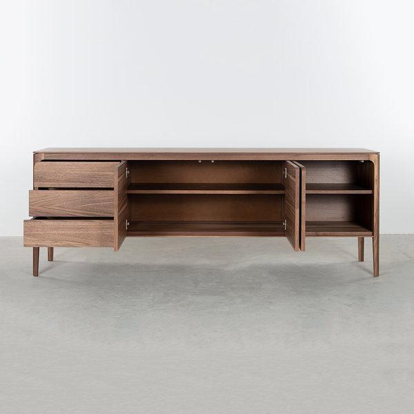 bSav & Økse Rikke Sideboard Walnut 4-compartment