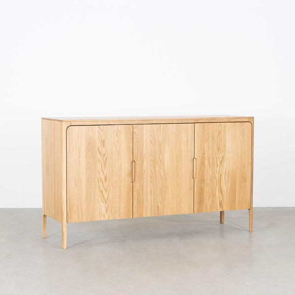 bSav & Økse Rikke Highboard Cabinet Oak 3-door