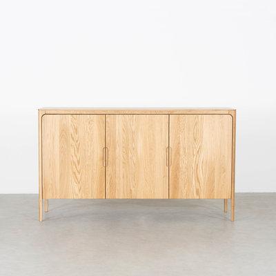 Sav & Økse Rikke Highboard Cabinet Oak 3-door