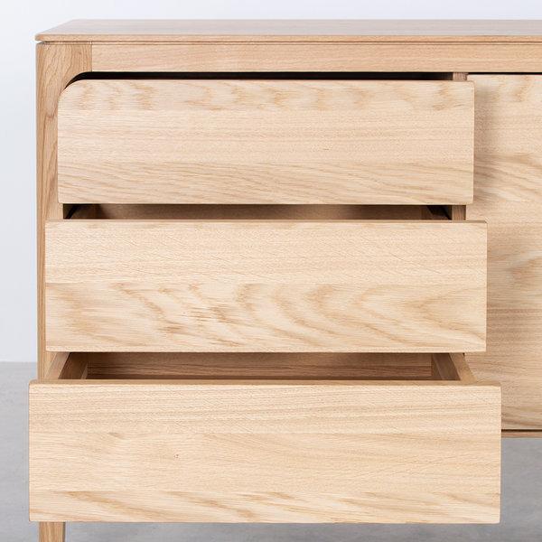 bSav & Økse Rikke Sideboard Oak 2-compartment