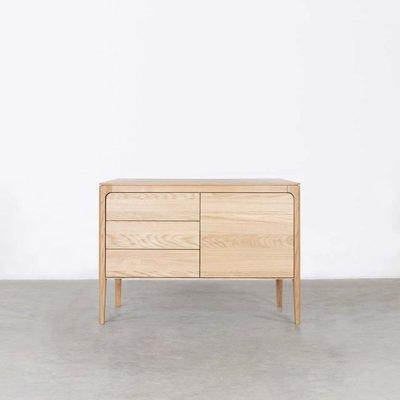 Sav & Økse Rikke Sideboard Oak 2-compartment