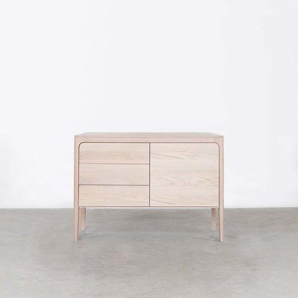 bSav & Økse Rikke Sideboard Oak Whitewash 2-compartment