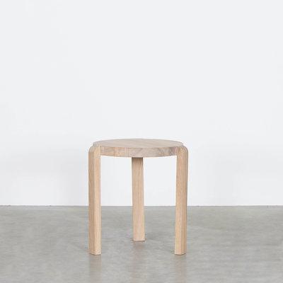 Sav & Økse Fraek Side table Oak Whitewash