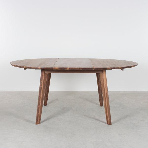 bSav & Økse Nonne Table Round Extendable Walnut