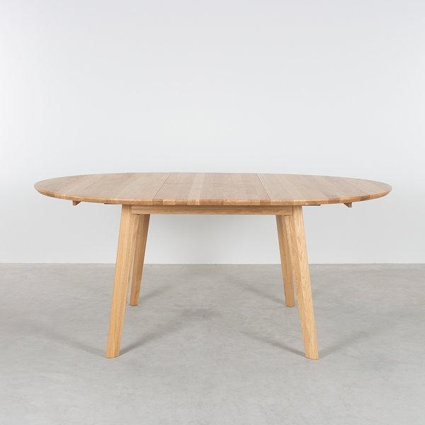 bSav & Økse Nonne Table Round Extendable Oak