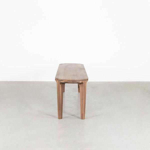 bSav & Økse Onni Dining table bench Walnut
