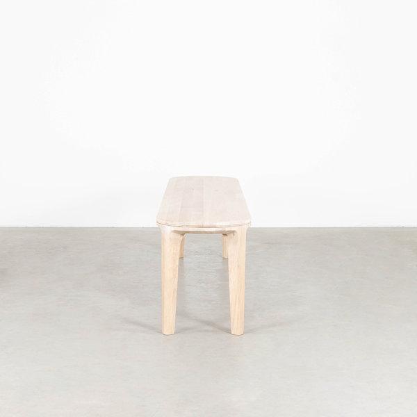 bSav & Økse Onni Dining table bench Oak Whitewash