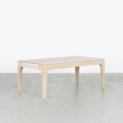 Sav & Økse Rikke Coffee table Rectangle Oak Whitewash