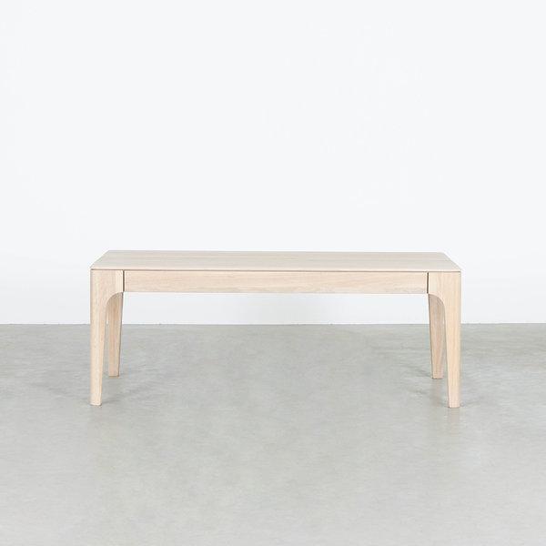bSav & Økse Rikke Coffee table Rectangle Oak Whitewash