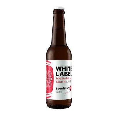 Brouwerij Emelisse (Slot Oostende) Emelisse White Label Barley Wine Bordeaux Margaux BA  - 33 cl