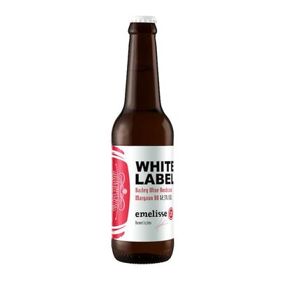 Brouwerij Emelisse (Slot Oostende) White Label Barley Wine Bordeaux Margaux BA  - 33 cl