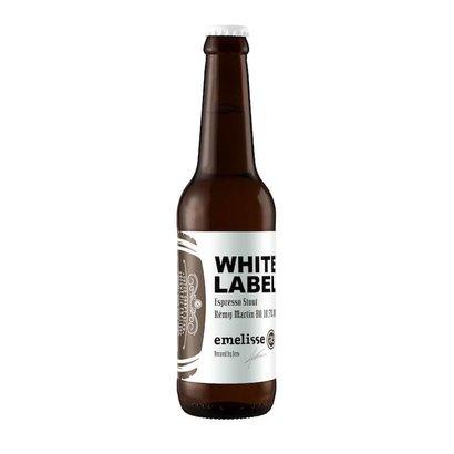 Brouwerij Emelisse (Slot Oostende) White Label Espresso Stout Rémy Martin BA - 33 cl