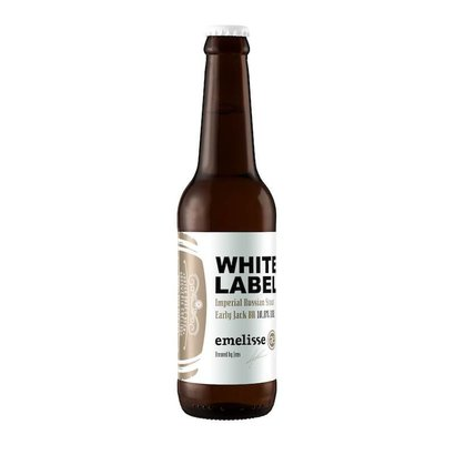 Brouwerij Emelisse (Slot Oostende) White Label Imperial Russian Stout Early Jack BA - 33 cl