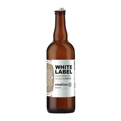 Brouwerij Emelisse (Slot Oostende) White Label Imperial Russian Stout Early Jack BA - 75 cl